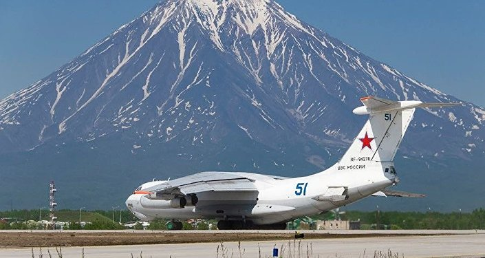 Aircraft of the Russian Pacific Fleet.