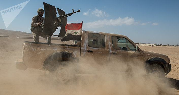 A truck of the Syrian Arab Army (SAA). (File)