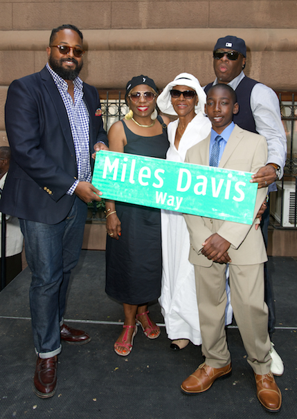 Miles Davis Way Dedicated in NYC - JazzTimes