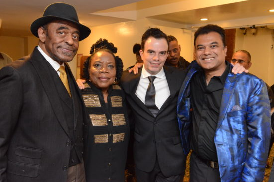 Archie Shepp with Amina Claudine Myers, Darcy James Argue and Rudresh Mahanthappa at Princeton University