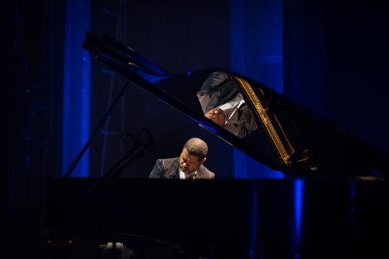 Jason Moran at the 2018 JazzMi festival in Milan, Italy