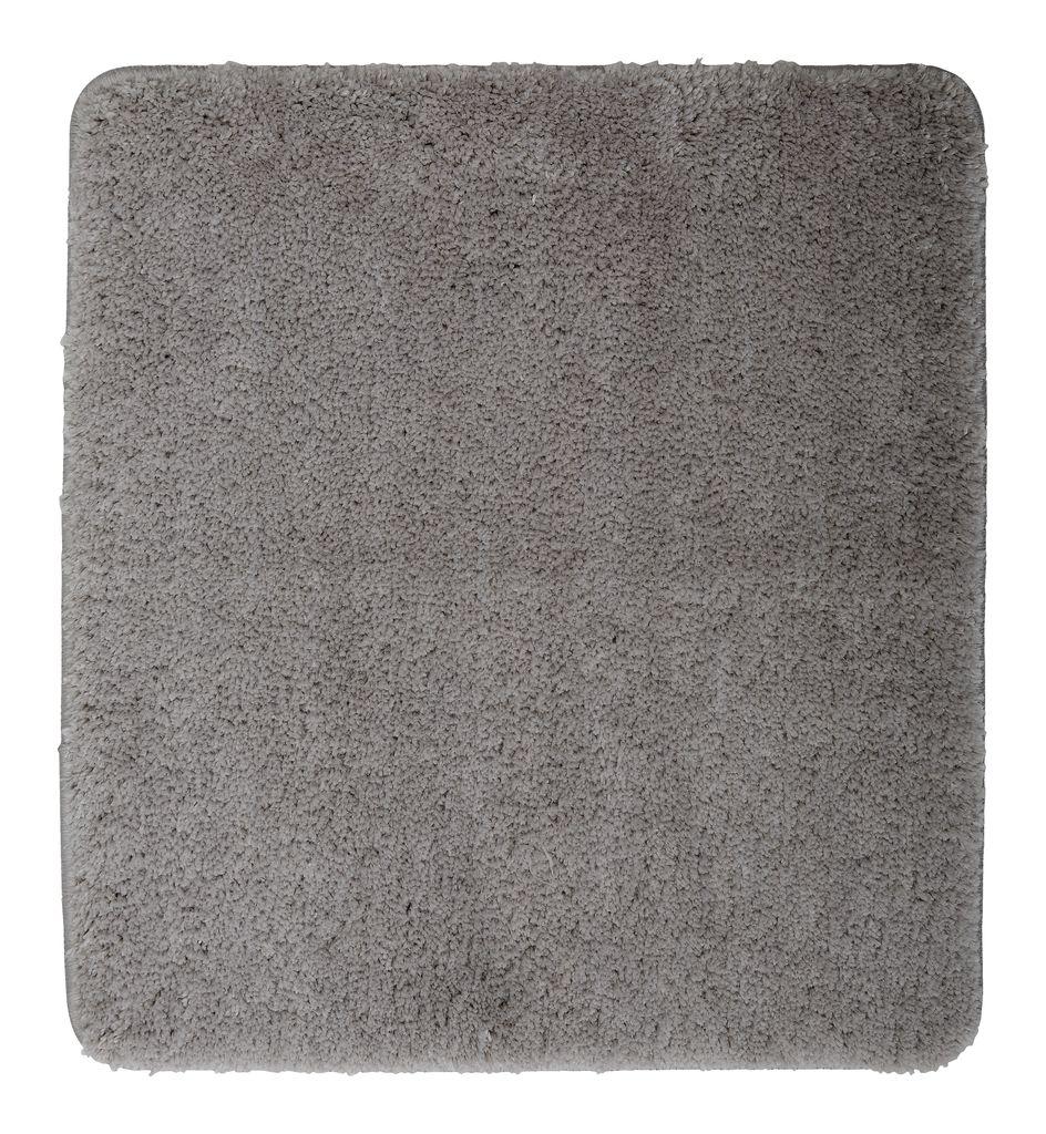 tapis de bain uni de luxe 45x50 gris