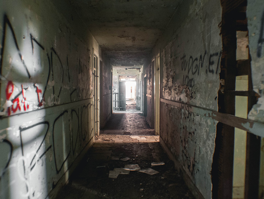 Haunted House Staircase