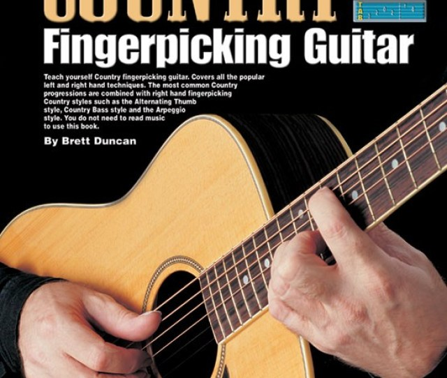 Progressive Country Fingerpicking Guitar Teach Yourself How To Play Guitar