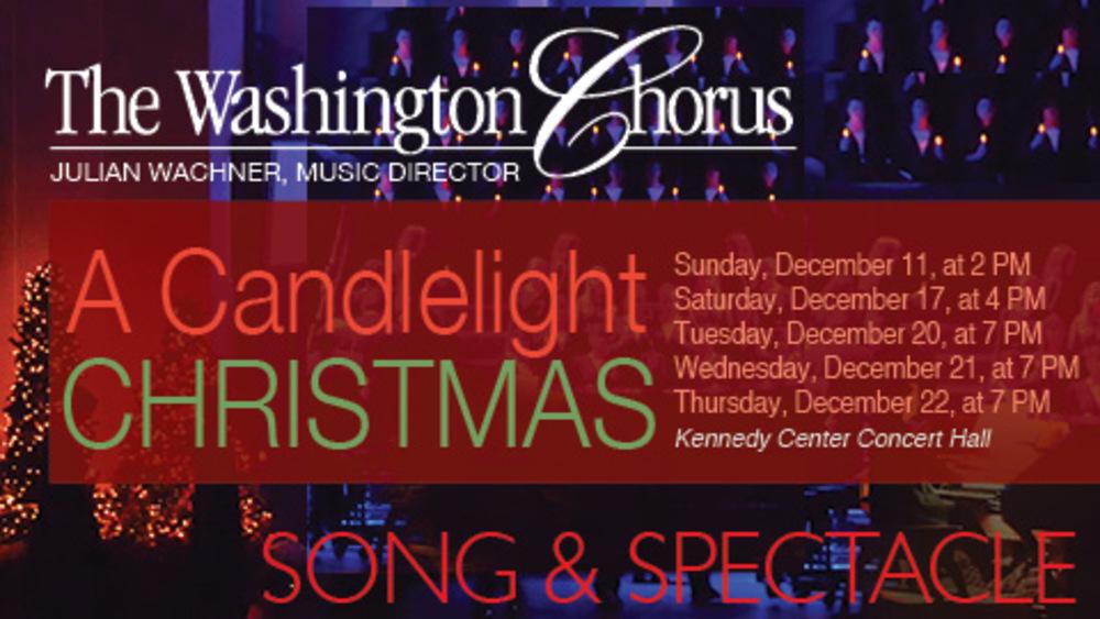 Image result for washington chorus candlelight christmas