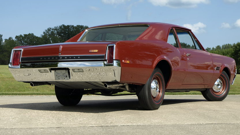 1966 Oldsmobile 442 F85 Club Coupe   S120 1   Dallas 2014 1966 Oldsmobile 442 F85 Club Coupe   3
