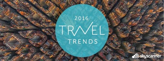Hot travel trends for 2016
