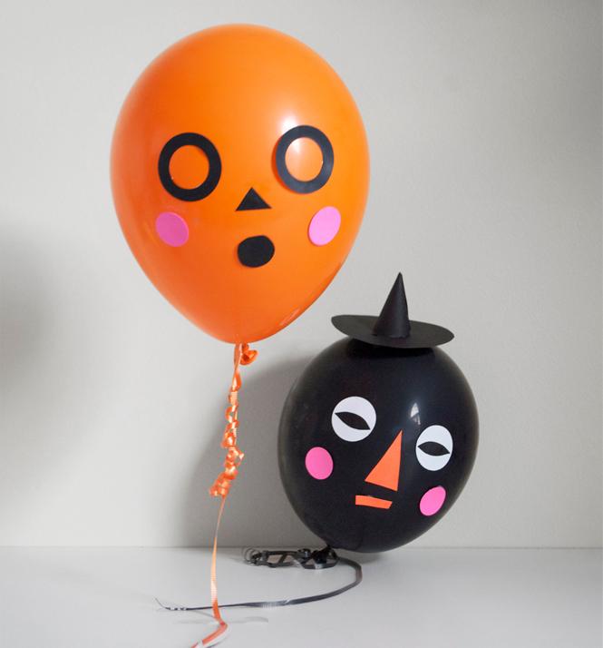 ballons monstres halloween