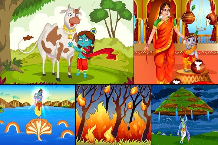Krishna Bhagwan Ki Picture Cartoon Mein | secondtofirst com