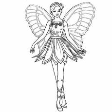 barbie coloring pages free # 69