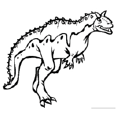 free printable dinosaur coloring pages # 12