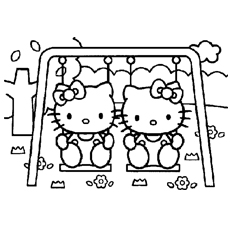 free printable hello kitty coloring pages # 0