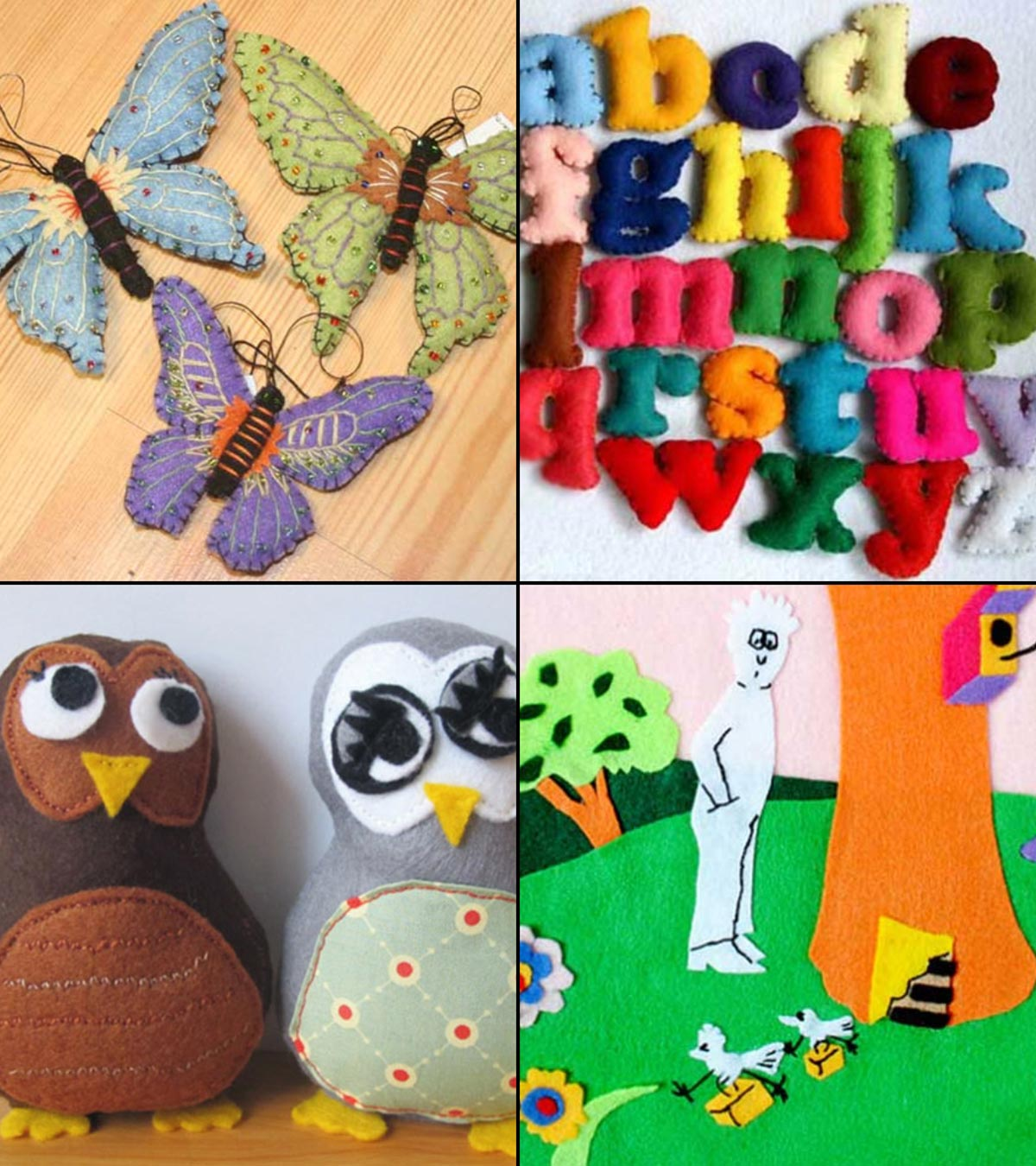 Imaginative crafts for kids are a great way to spark your kid's creativity and inspire them to explore their minds. Top 10 Beautiful Felt Crafts Ideas For Kids Of All Ages