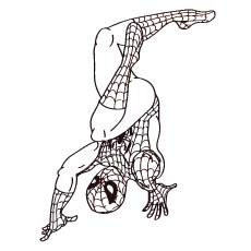 coloring pages of spiderman # 7