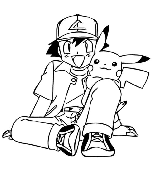 Top 28 Free Printable Pokemon Coloring Pages Online