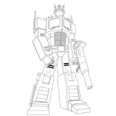 transformers prime coloring pages # 70