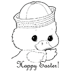 Top 25 Free Printable Easter Coloring Pages Online