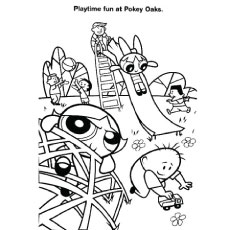 power puff girls coloring pages # 23