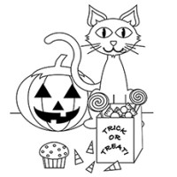 free printable halloween coloring pages for toddlers
