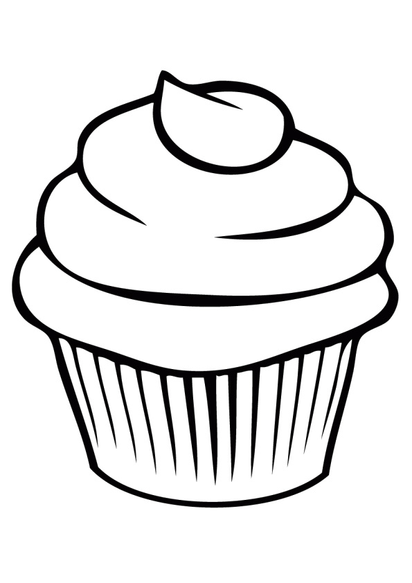 pinnancy smithers on kids fun  cupcake coloring pages