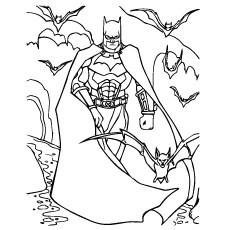 coloring pages of batman # 16