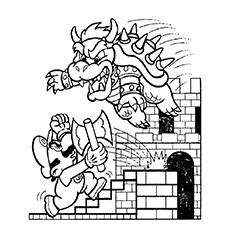 super mario brothers coloring pages # 42