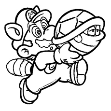 mario coloring pages online # 2