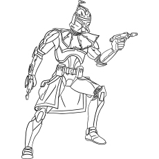 star wars clone wars coloring pages # 2