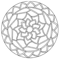 abstract coloring page # 8