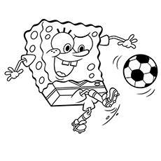 soccer coloring page # 1