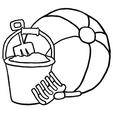 ball coloring pages # 7