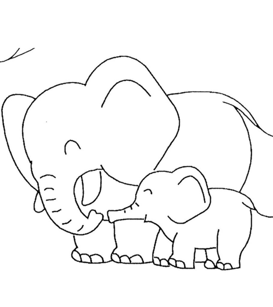 Top 10 Free Printable Jungle Animals Coloring Pages Online | jungle animals coloring pages for toddlers