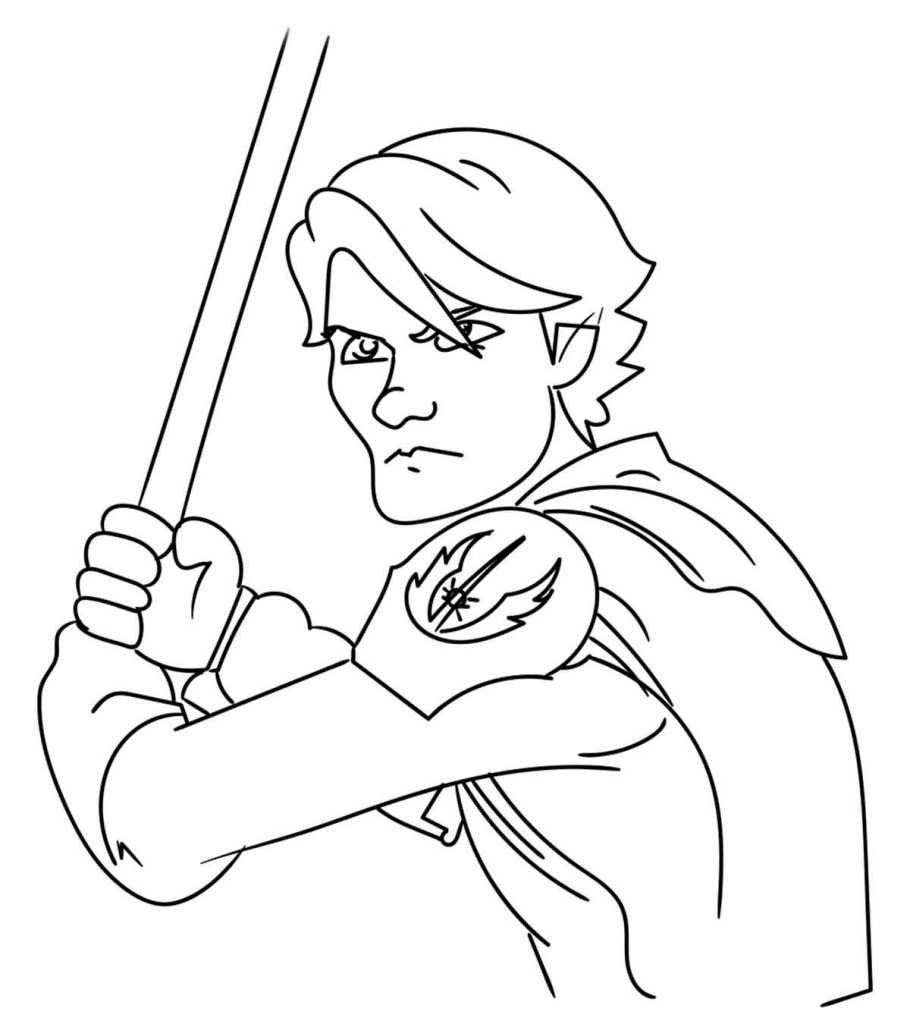 Top 25 Free Printable Star Wars Coloring Pages Online