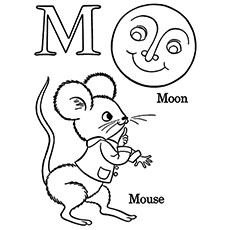 The M For Moon And Mouse