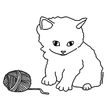 coloring pages kittens # 0