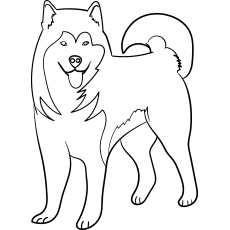 printable dog coloring pages # 1