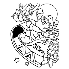 christmas coloring pages printable free # 12