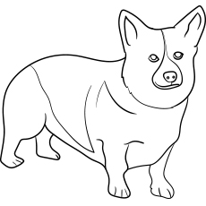 printable dog coloring pages # 9