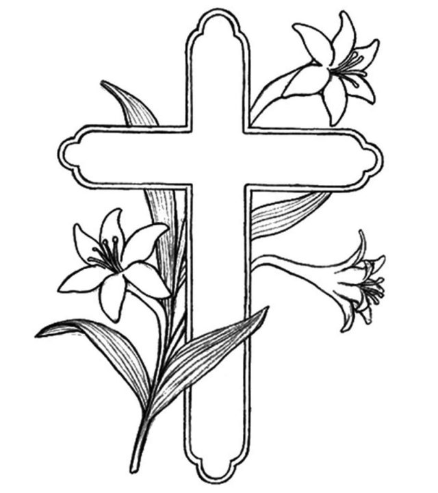 Top 9 Free Printable Cross Coloring Pages Online