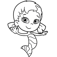 bubble guppies coloring page # 11