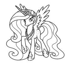 my little pony coloring pages free # 3