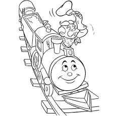 train coloring pages printable # 43