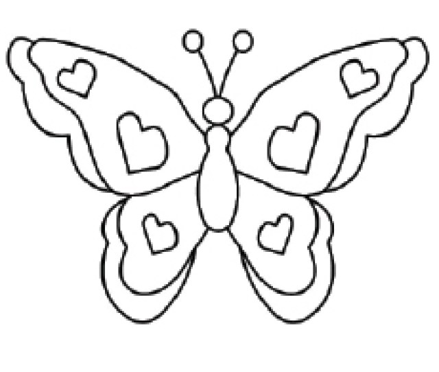 Top  Free Printable Butterfly Coloring Pages Online