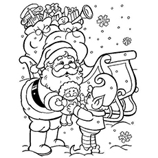 free printable winter coloring pages # 1