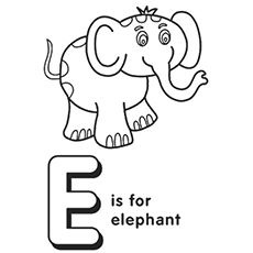 e coloring pages # 10