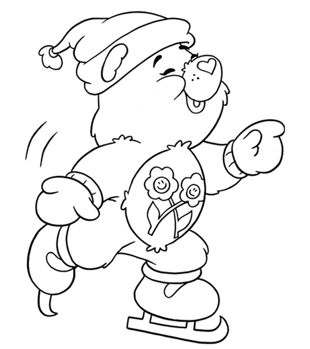 Season And Weather Coloring Pages