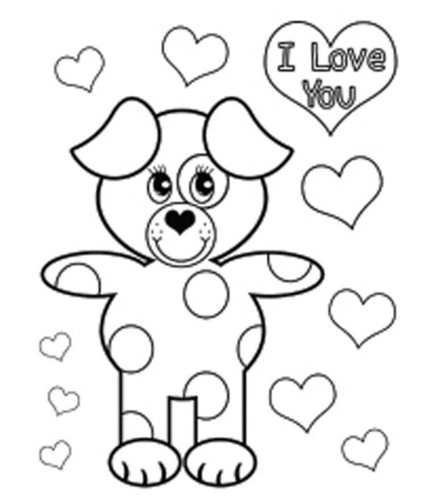 Top 27 Free Printable Valentines Day Coloring Pages Online