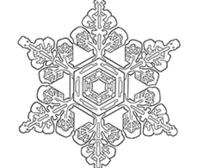 Top  Snowflake Coloring Pages For Your Little Ones