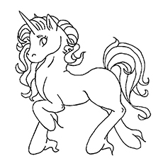 printable unicorn coloring pages # 52