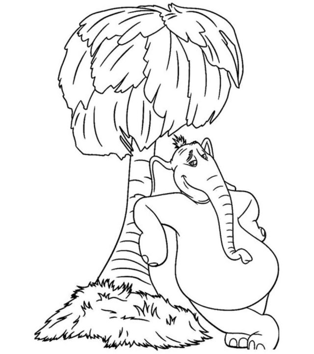 Top 23 Free Printable Dr. Seuss Coloring Pages Online